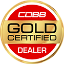 COBB Gold Certified Dealer